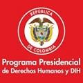 Programa Presidencial DDHH y DIH del Gobierno de Colombia.